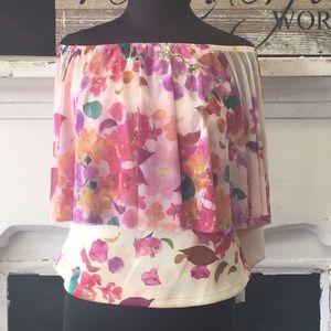 NWT Clarissa Rosania blouse